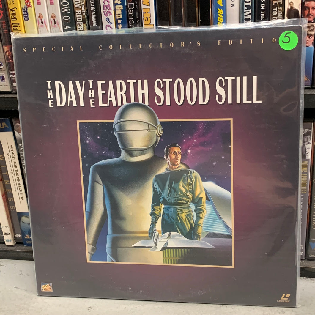 Day the Earth Stood Still Laserdisc