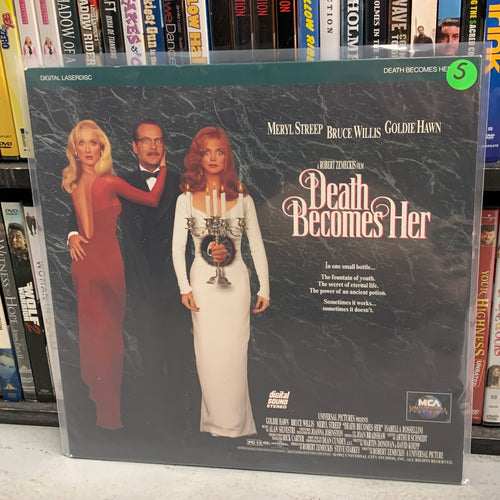 Death Becomes Her Laserdisc