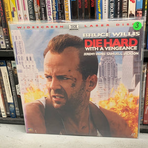 Die Hard with a Vengeance Laserdisc