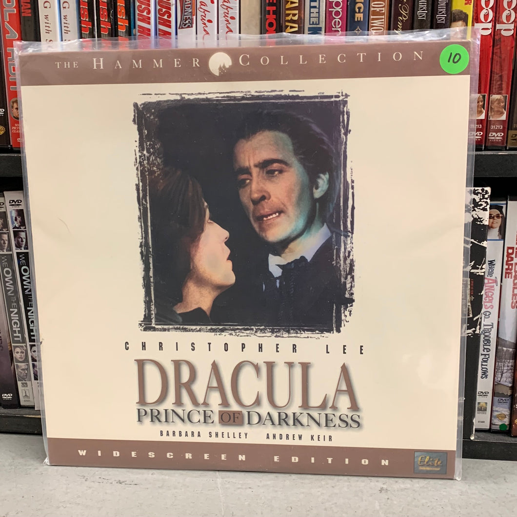 Dracula Prince of Darkness Laserdisc