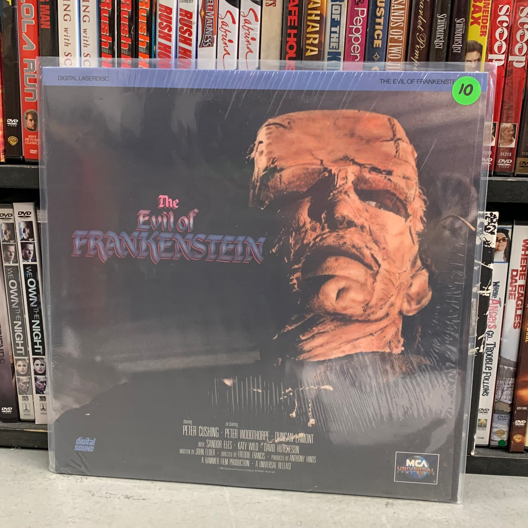 Evil of Frankenstein Laserdisc