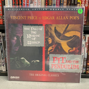 Fall of the House of Usher / Pit & the Pendulum Laserdisc
