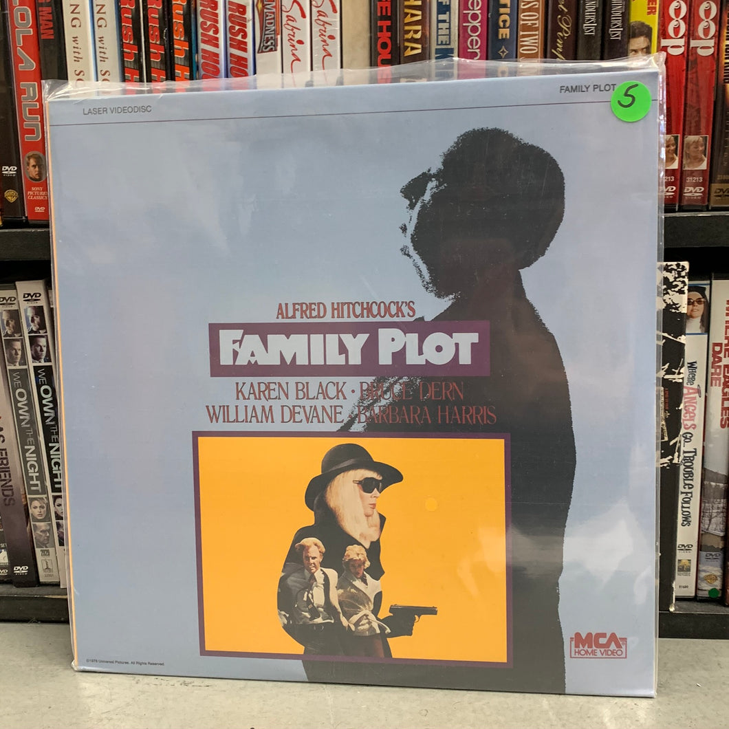 Family Plot Laserdisc