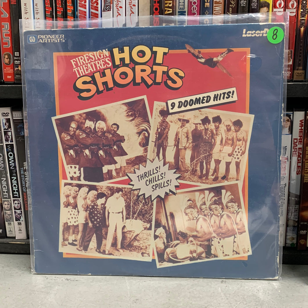 Hot Shorts Laserdisc