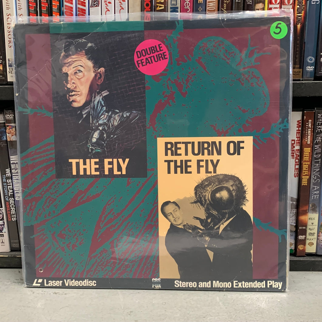 The Fly / Return of the Fly Laserdisc