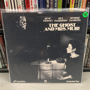 Ghost & Mrs. Muir Laserdisc