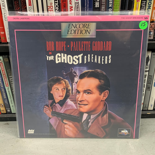 Ghost Breakers Laserdisc