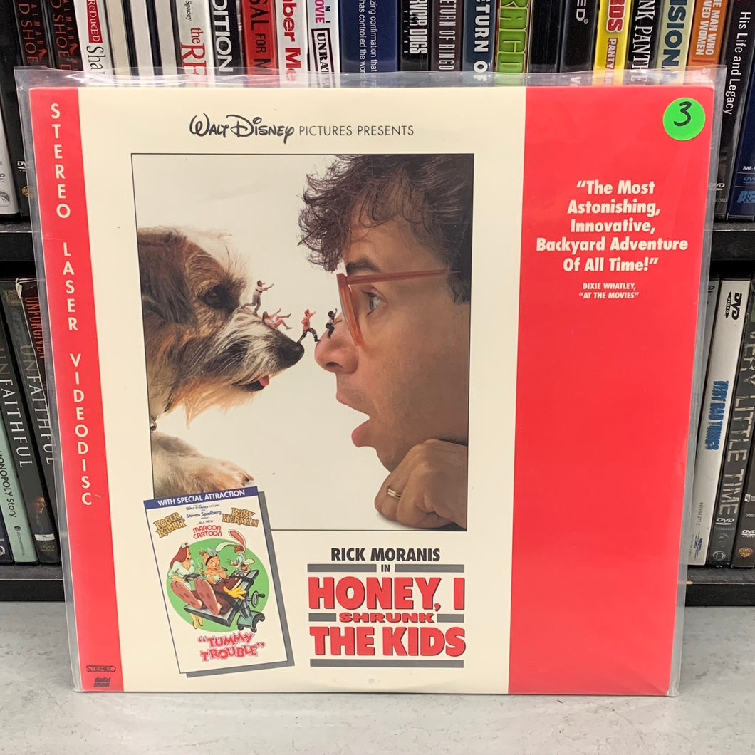 Honey, I shrunk the kids Laserdisc