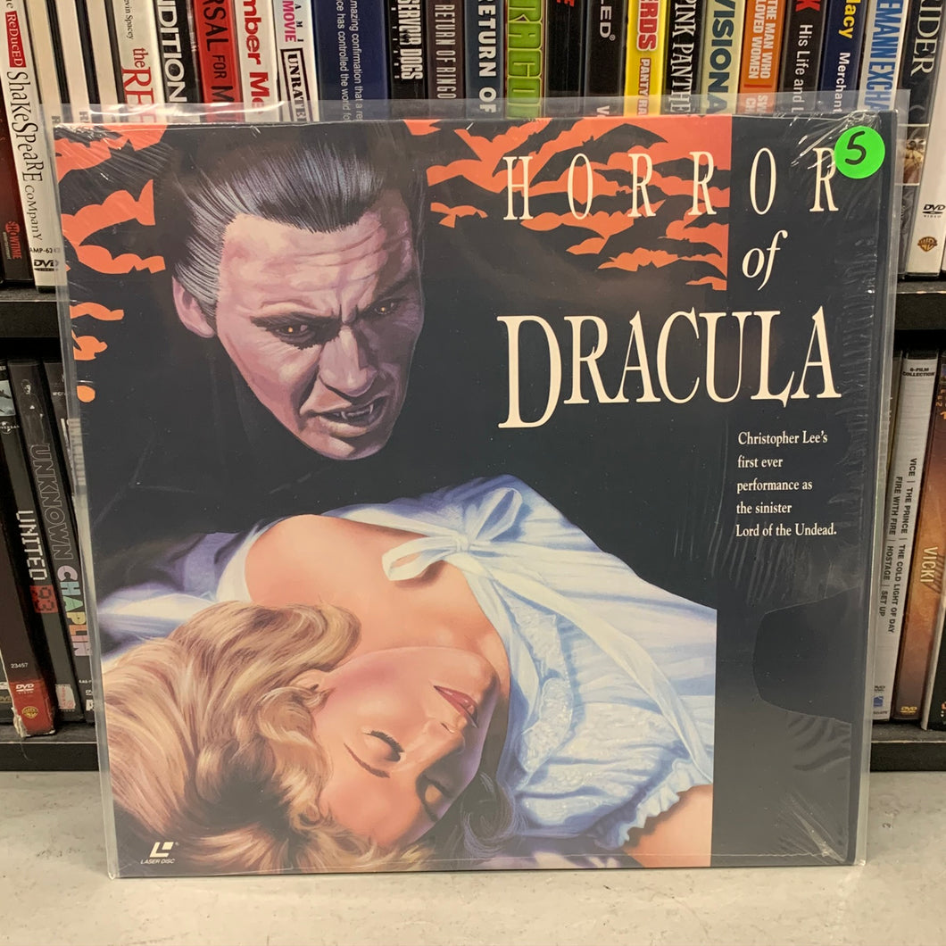 Horror of Dracula Laserdisc