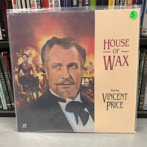 House of Wax Laserdisc