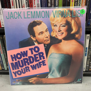 How to Murder your Wife Laserdisc