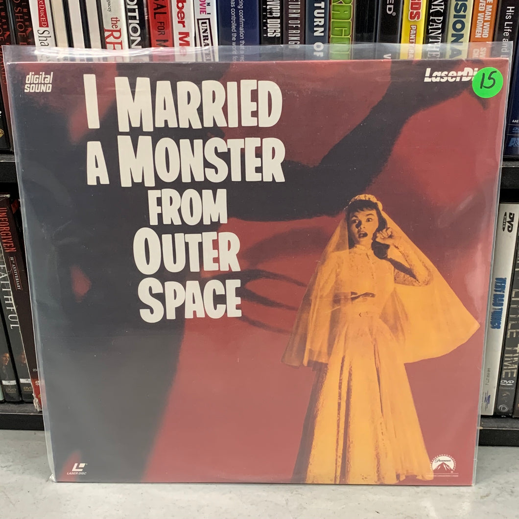 I Married a Monster from Outer Space Laserdisc
