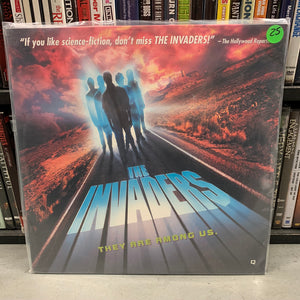 The Invaders Laserdisc