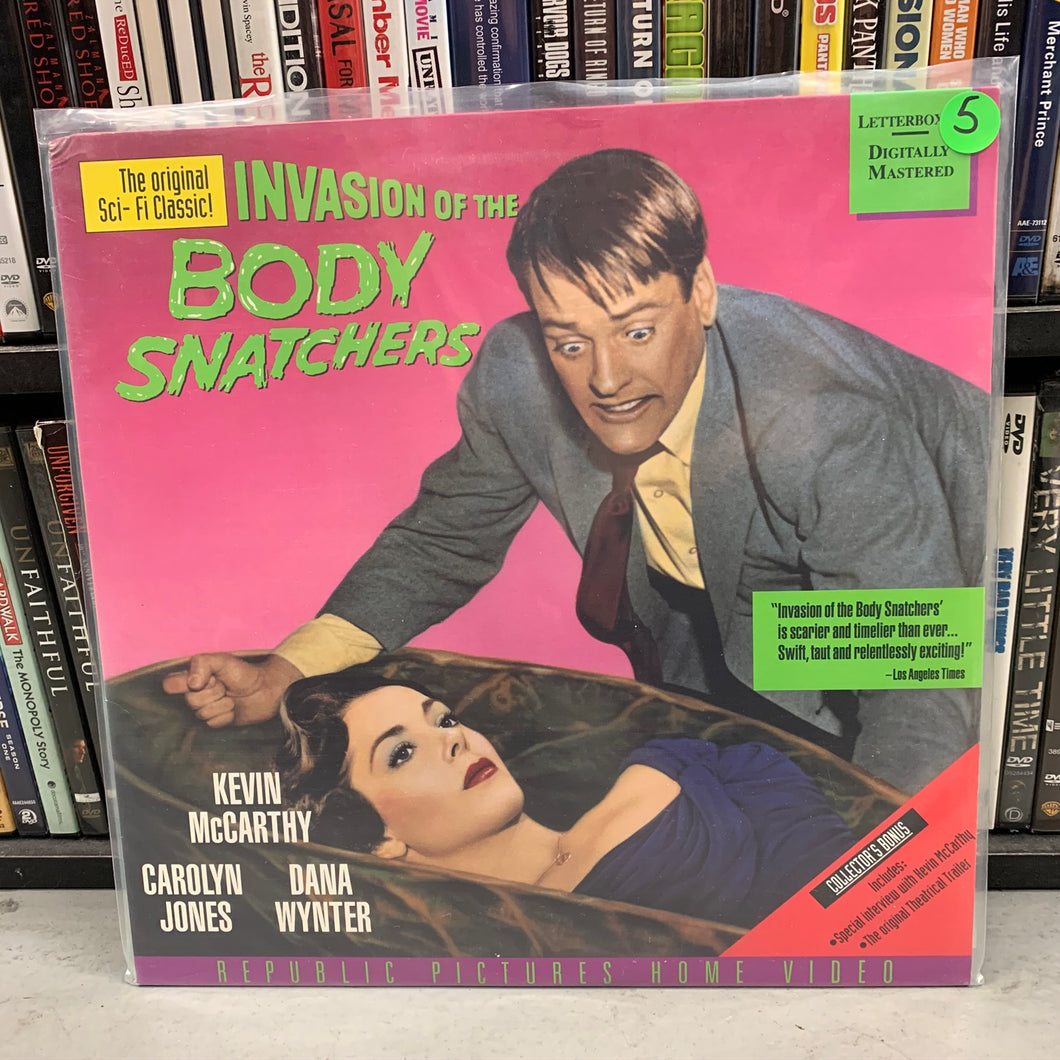 Invasion of the Body Snatchers Laserdisc