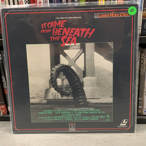 It came from Beneath the Sea Laserdisc