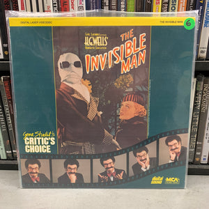 Invisible Man Laserdisc