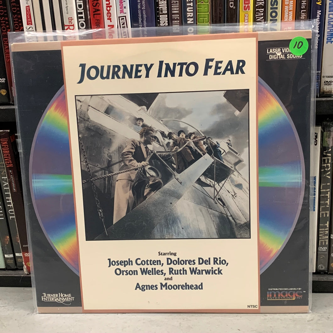 Journey into Fear Laserdisc