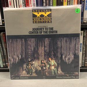 Journey to the Center of the Earth Laserdisc