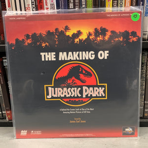 Jurassic Park, the Making of Laserdisc