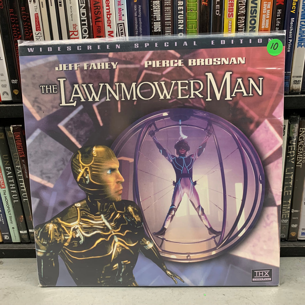 Lawnmower Man Laserdisc