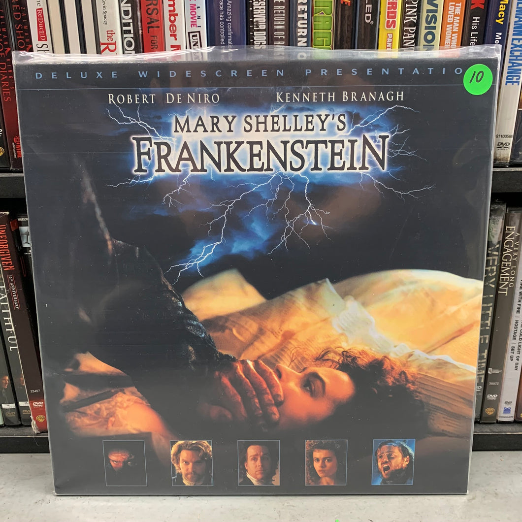 Mary Shelley's Frankenstein Laserdisc
