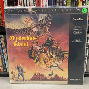 Mysterious Island Special Edition Laserdisc