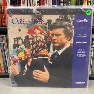 Obsession Laserdisc
