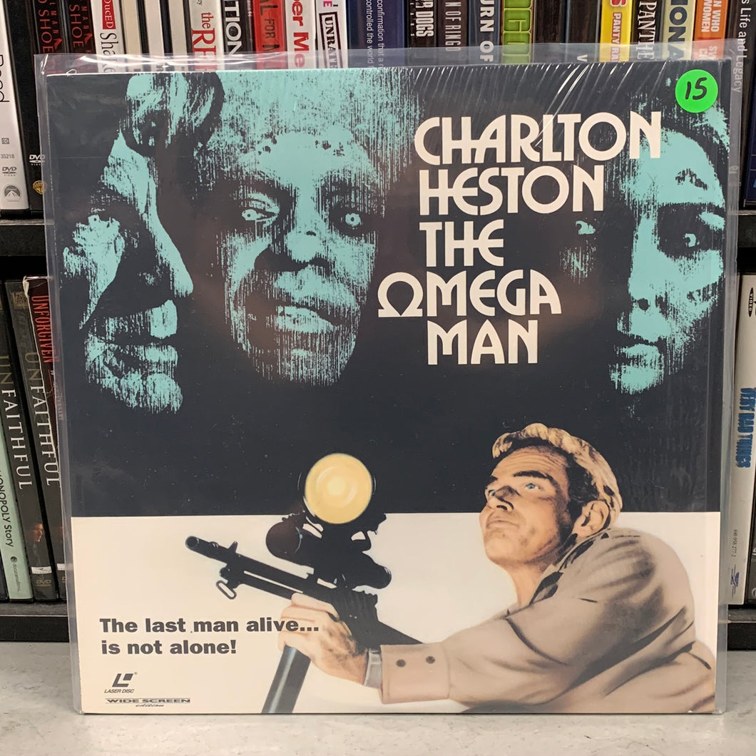 The Omega Man Laserdisc