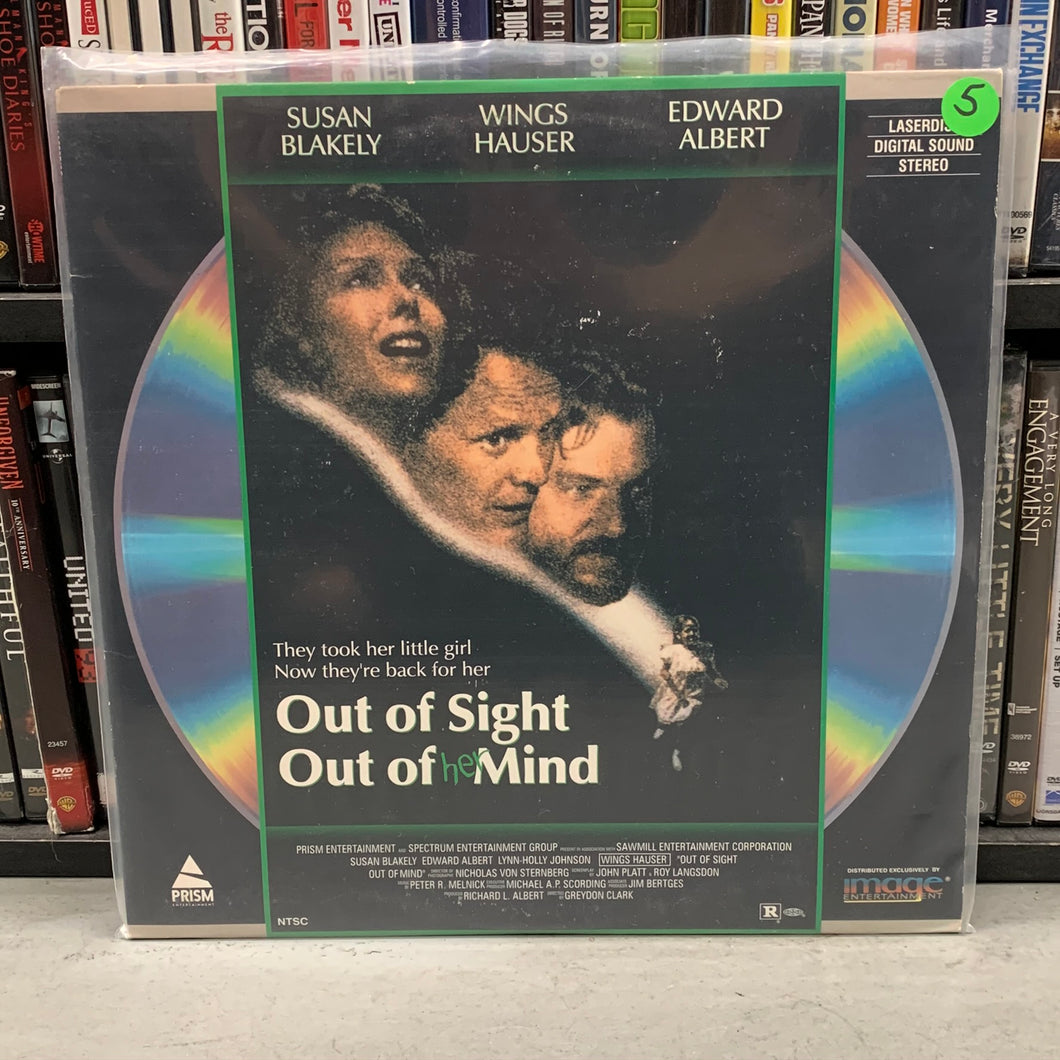 Out of Sight out of Mind Laserdisc