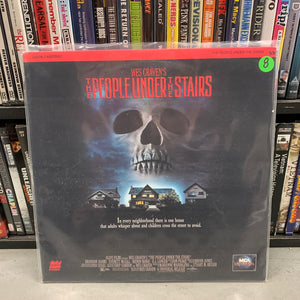 People under the Stairs Laserdisc