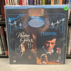 Phantom of the Opera / Paranoiac Laserdisc