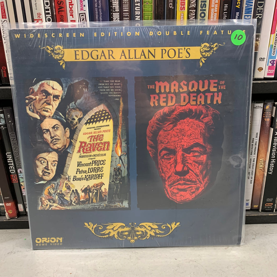The Raven / Masque of the Red Death Laserdisc