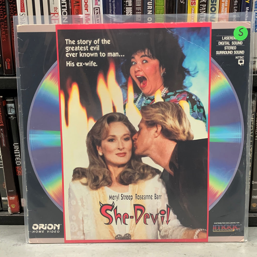She-Devil Laserdisc