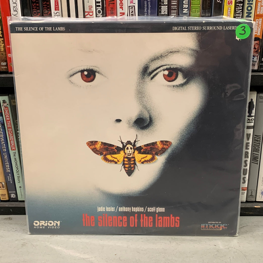 Silence of the Lambs Laserdisc