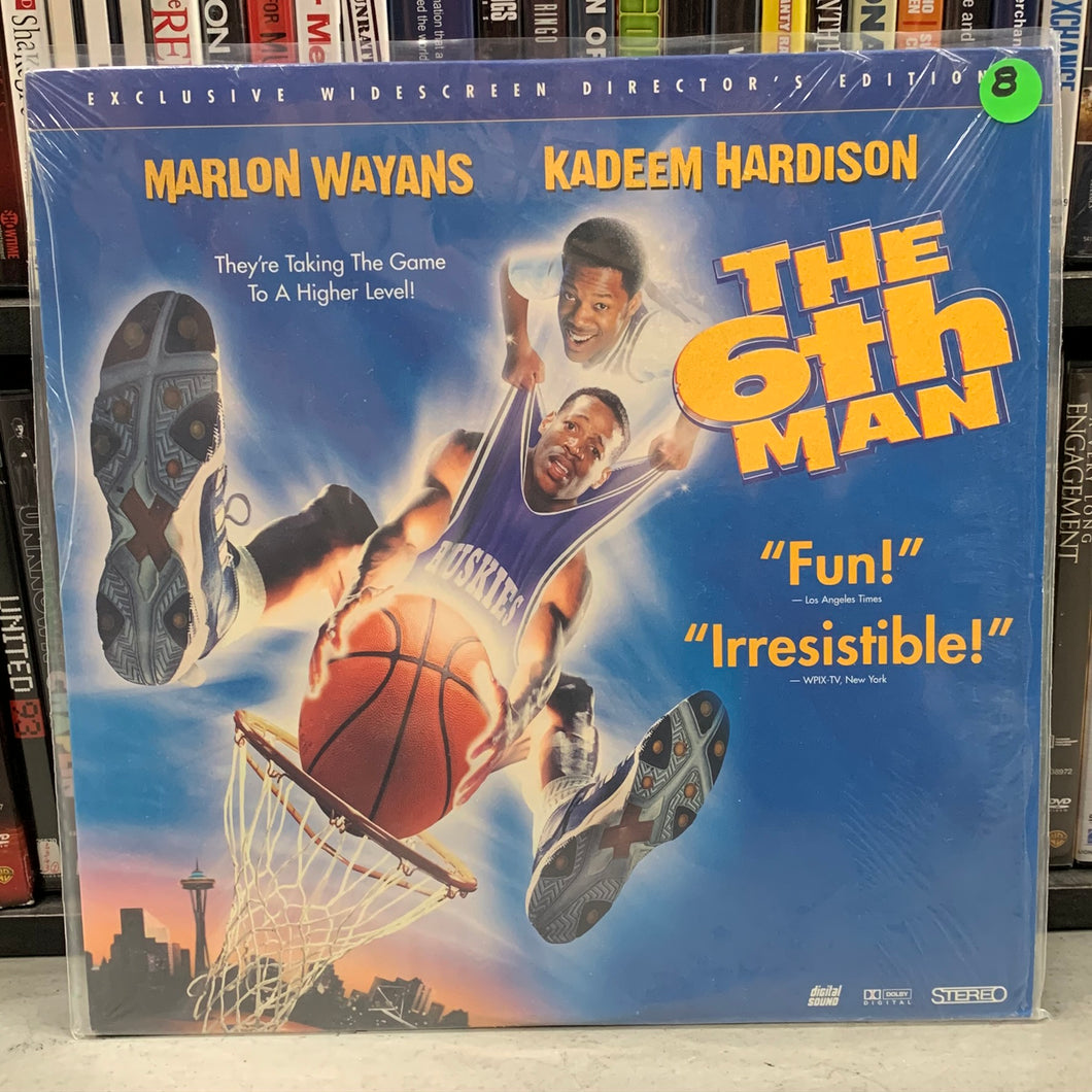6th Man Laserdisc