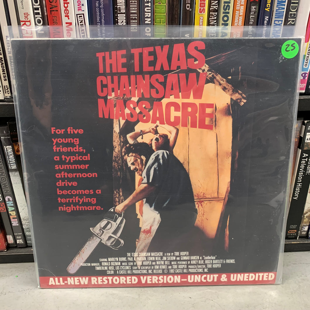 Texas Chainsaw Massacre Laserdisc