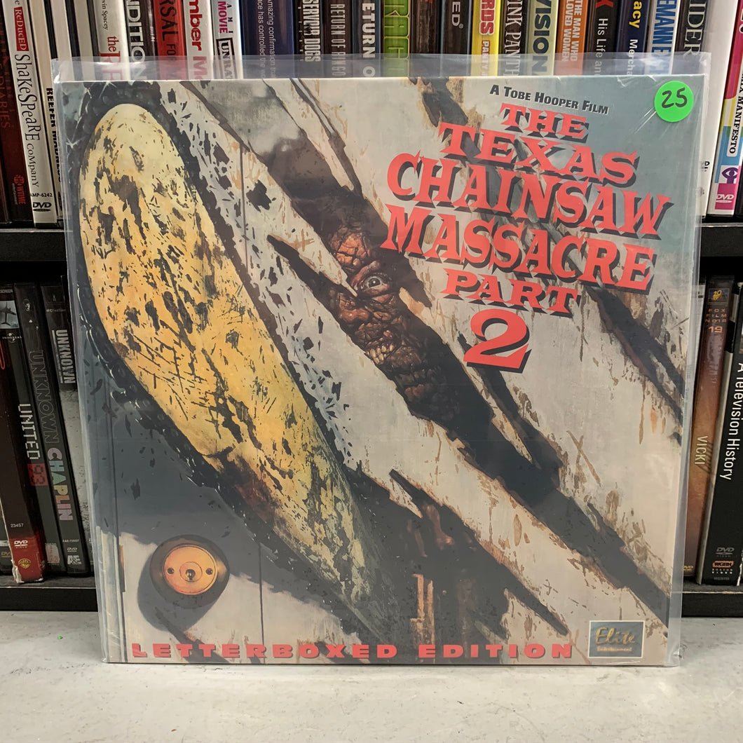 Texas Chainsaw Massacre 2 Laserdisc