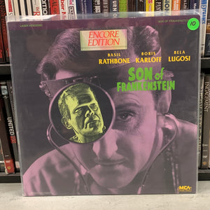 Son of Frankenstein Laserdisc