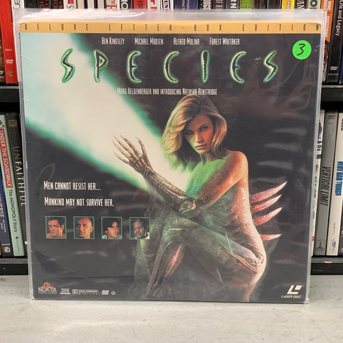 Species Laserdisc