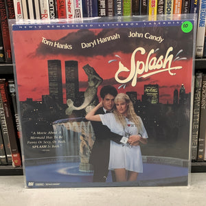 Splash Laserdisc
