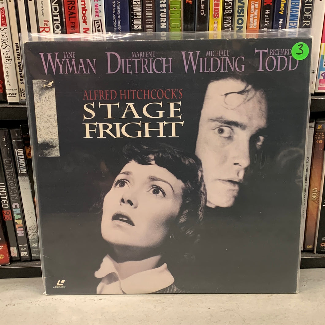 Stage Fright Laserdisc