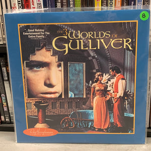 3 Worlds of Gulliver Laserdisc