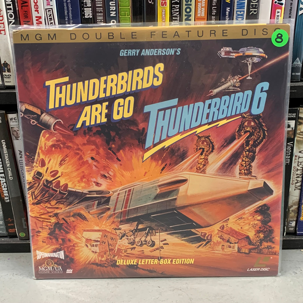 Thunderbirds are Go / Thunderbird 6 Laserdisc