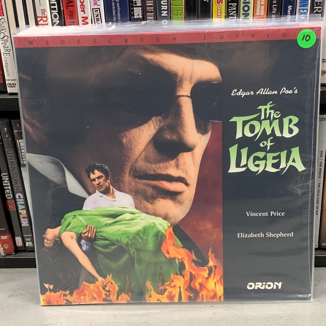 Tomb of Ligeia Laserdisc
