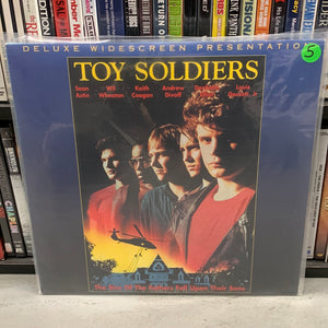 Toy Soldiers Laserdisc