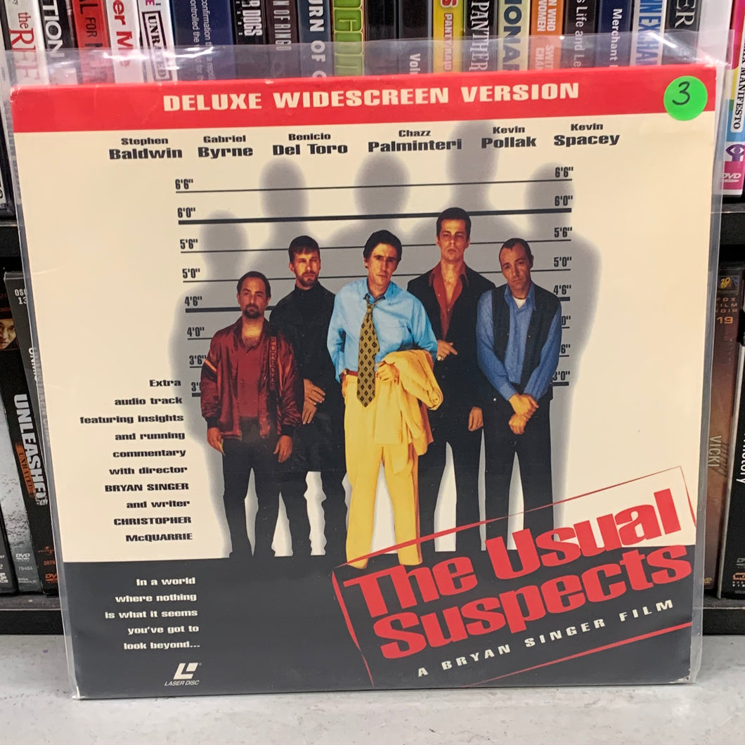 Usual Suspects Laserdisc