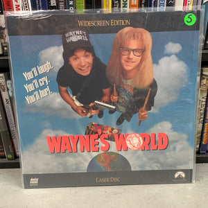 Waynes World Laserdisc
