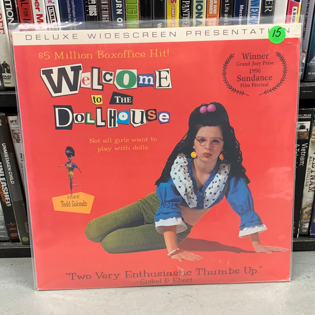 Welcome to the Dollhouse Laserdisc