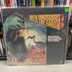 When Dinosaurs Ruled the Earth Laserdisc