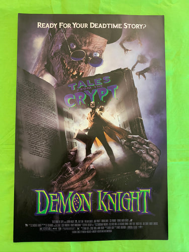 Tales From The Crypt - Demon Knight promo poster